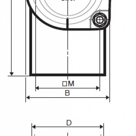 Ревизия с круглой крышкой Düker SML