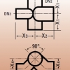 Комбинированная крестовина Düker SML
